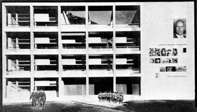 House of fascism julia ritson for Giuseppe terragni casa del fascio