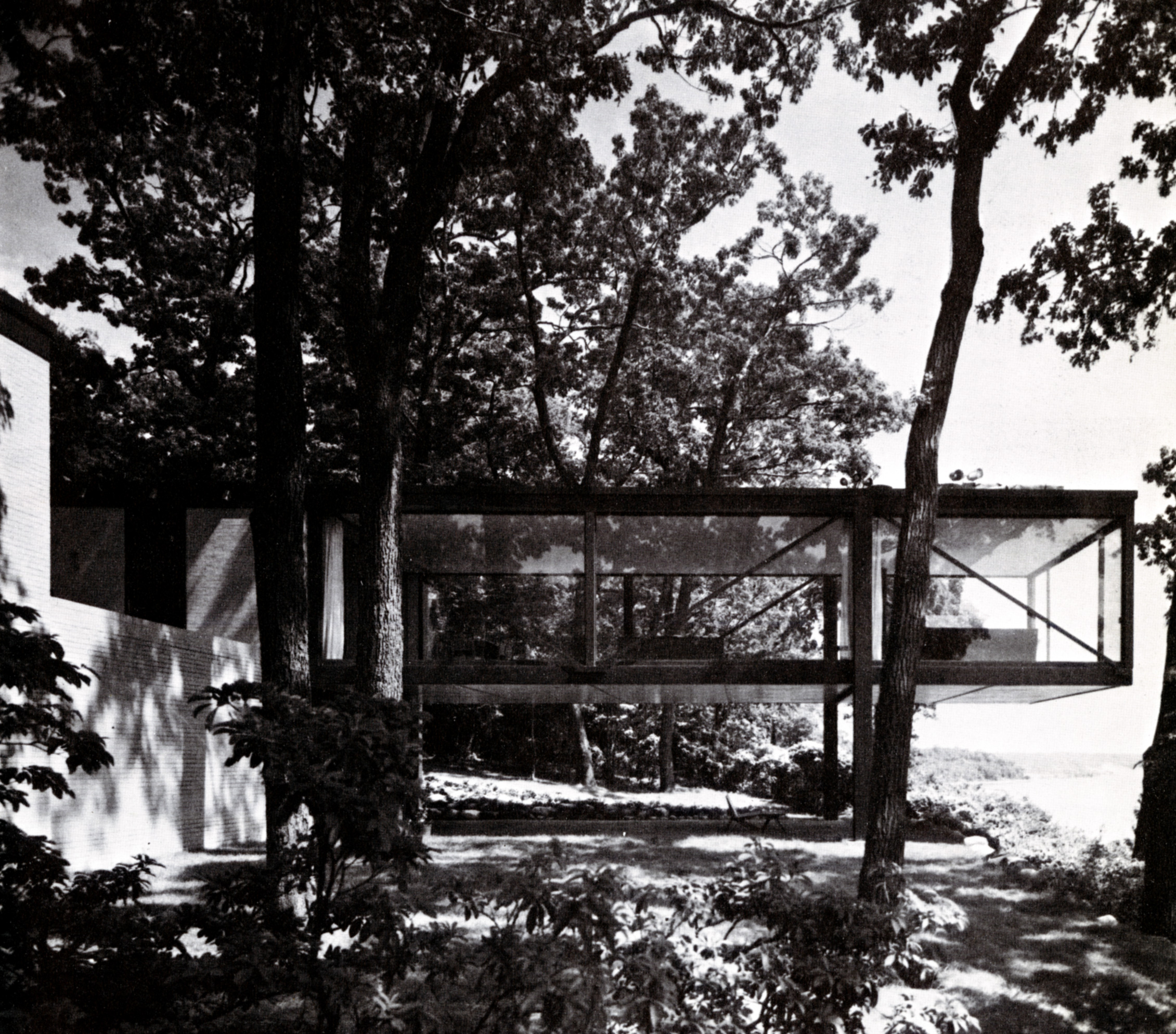 Philip Johnson S Long Island House