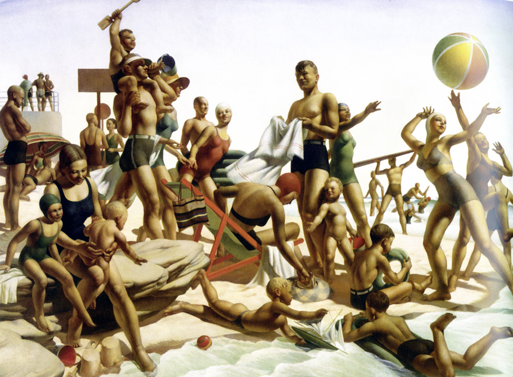 Charles-Meere-Australian-Beach-Pattern-1940